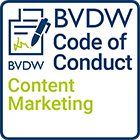 Content Marketing BVDW Siegel